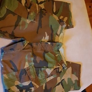 Other - Vintage military camo cargo pants